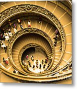 Spiral Staircase Metal Print by Stefano Senise