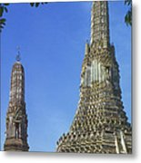 Spires Of The Temple Of Dawn Metal Print