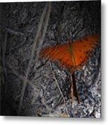 Spirit Butterfly Metal Print by Ella Char