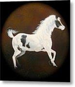 Spirit Horse Drum  Metal Print
