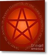 Spirit Of Fire Metal Print