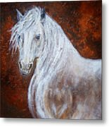 Spirit Of The Heart Metal Print by The Art With A Heart By Charlotte Phillips
