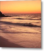 Spirit Of The Maya Seascape Metal Print