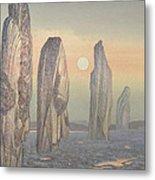 Spirits Of Callanish Isle Of Lewis Metal Print