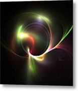Spiritual Energy Metal Print by Peter Chasse