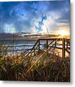 Spiritual Renewal Metal Print by Debra and Dave Vanderlaan