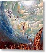 Spiritual Warfare Metal Print