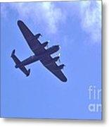 Spitfire  Lancaster Bomber Metal Print