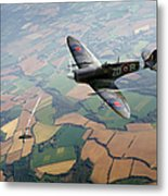 Spitfire Victory Metal Print