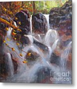 Splash And Trickle Metal Print