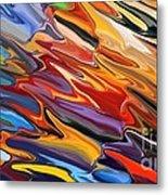 Splash Of Colour Metal Print