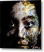 Splash Of Humanity Metal Print