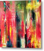 Splatter And Blur Metal Print