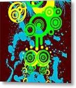 Splattered Series 1 Metal Print
