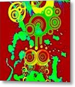 Splattered Series 10 Metal Print