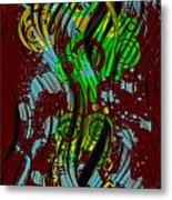 Splattered Series 2 Metal Print