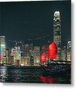 Splendid Asian City, Hong Kong Metal Print
