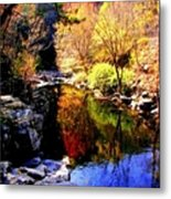 Splendor Of Autumn Metal Print