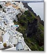 Splendor Of Santorini Metal Print