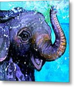 Splish Splash Metal Print by Debi Starr
