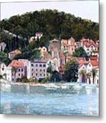 Split Harbour Croatia Metal Print