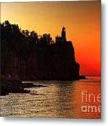 Split Rock Lighthouse - Sunrise Metal Print