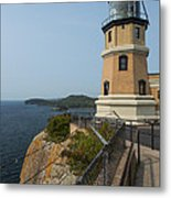 Split Rock Lighthouse 100 Metal Print