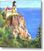 Split Rock Lighthouse Metal Print