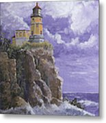 Split Rock Magic Metal Print