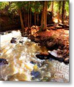 Split Rock River Metal Print