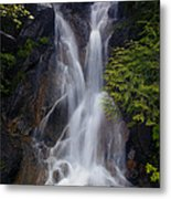 Split Top Falls Metal Print