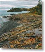 Splitrock Shoreline Metal Print