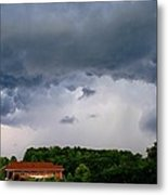 Spoiling For A Storm Metal Print