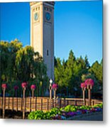 Spokane Clocktower Metal Print