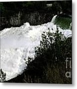 Spokane Falls In The Spring Metal Print