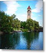 Spokane Riverfront Park Metal Print