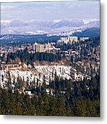 Spokane View 2-4-14 Metal Print