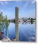 Sponge Boat Docks 2  Metal Print
