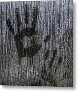 Spooky Window Metal Print