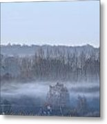 Spooky Winters Morning Metal Print by Karen Grist