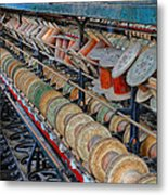 Spools At Lonaconing Silk Mill Metal Print