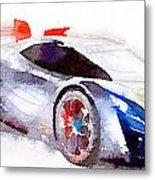 Sport Car 3 Metal Print