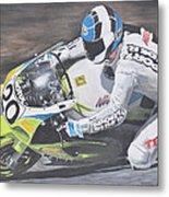 Sport Rider Metal Print