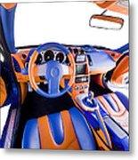 Sports Car Interior Metal Print