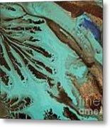 Spot Of Blue Metal Print