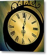 Spotlight On Time Metal Print