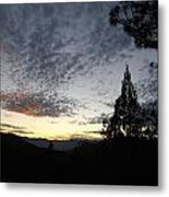 Spotted Clouds  Metal Print