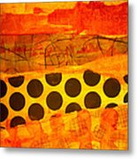 Spotted Sunset Metal Print