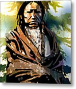 Spotted Tail Metal Print