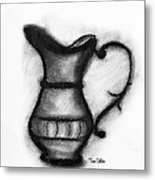Spout And Handle Metal Print